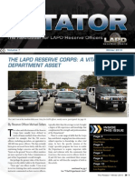 LAPD Reserve Rotator Newsletter Winter 2010