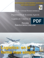 Exposicion Logistica en Su Forma Simple