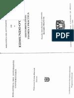 historiología,teoría y práctica.O_GORMAN0001