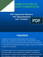 Unidad IV - Diseño y calculo de tableros, acometidas y transformadores