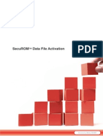 SecuROM Data File Activation