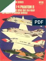 Osprey Aircam Aviation Series 30 - McDonnell F-4 Phantom II in US NAVY-USMC-USAF-RAF-FAA-RAAF Luftwafe & Foreign Service