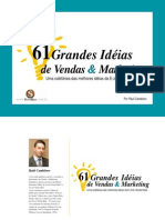 61 Ideias Vendas Marketing
