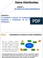 Fundamentos de Bases de Datos Distribuidas