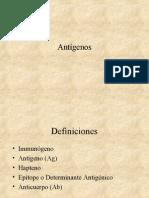 3. Antígenos