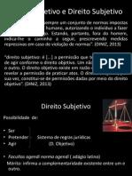 Direito Objetivo e Direito Subjetivo