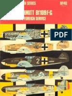 Osprey Aircam Aviation Series 40 - Messerschmitt Bf 109 F-G in Luftwaffe and Foreign Service Vol 2