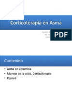 Corticoterapia en Asma