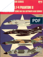 Osprey Aircam Aviation Series 41 - McDonnell F-4 Phantom II in USAF-US Navy-USMC-RAF-FAA-Luftwaffe & IIAF Service