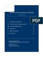 2012 Supplement Florida Aviation and Space Law Report