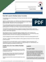 Nl Maritime News 28-May-13