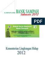 Data 250 Bank Sampah Di 50 Kota