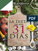 Ágata Roquette - La dieta de los 31 dias