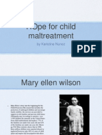 child maltreatment presentation