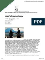 Israel's Fraying Image