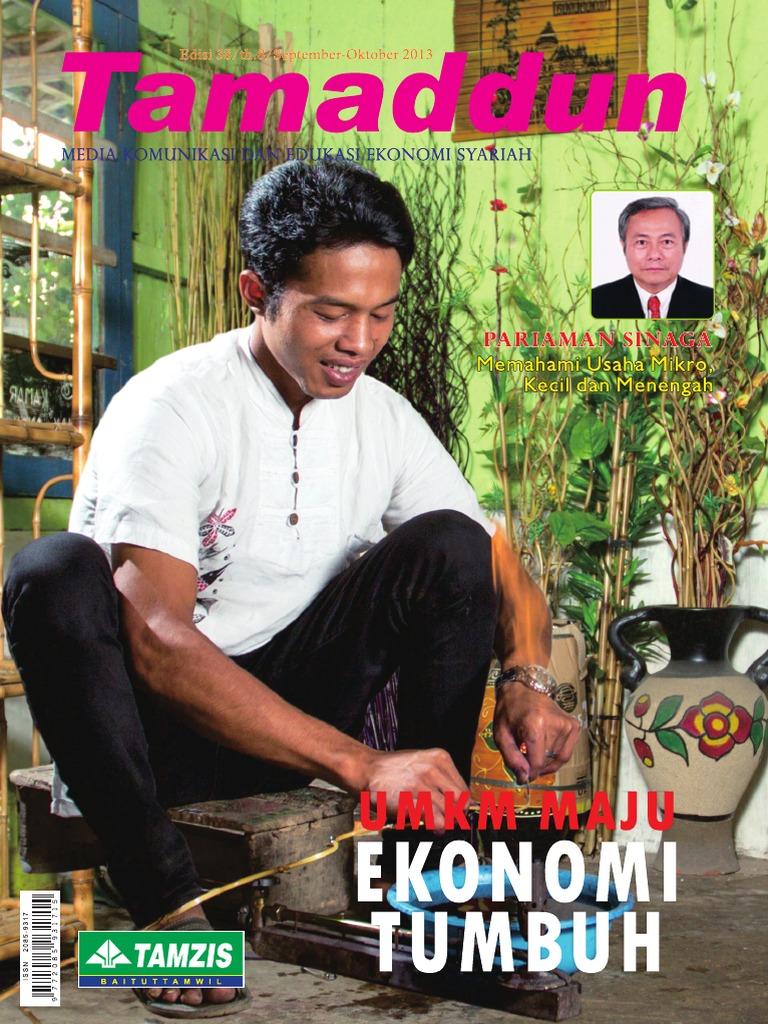 Majalah Tamaddun Edisi Sept Okt 2013 Produk Ukm Bumn Telur Ayam Segar Ampamp  Depok