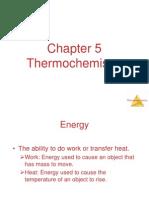 CH 5 Thermochemistry