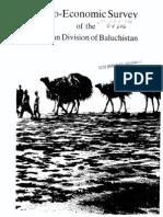 Socio-Economic Survey of Mekran District, Balochistan