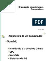 Organizacao e Arquitetura de Computadores 09 2009