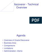 Oracle Discoverer Overview
