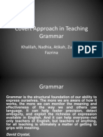 Covert Approach in Teaching Grammar
