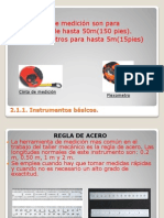 Metrologia 2.1 Instrumentos Basicos