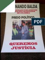 Secuestro de exasambleista del Ecuador en Colombia DDHH