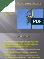 Three-Phase Power Circuits