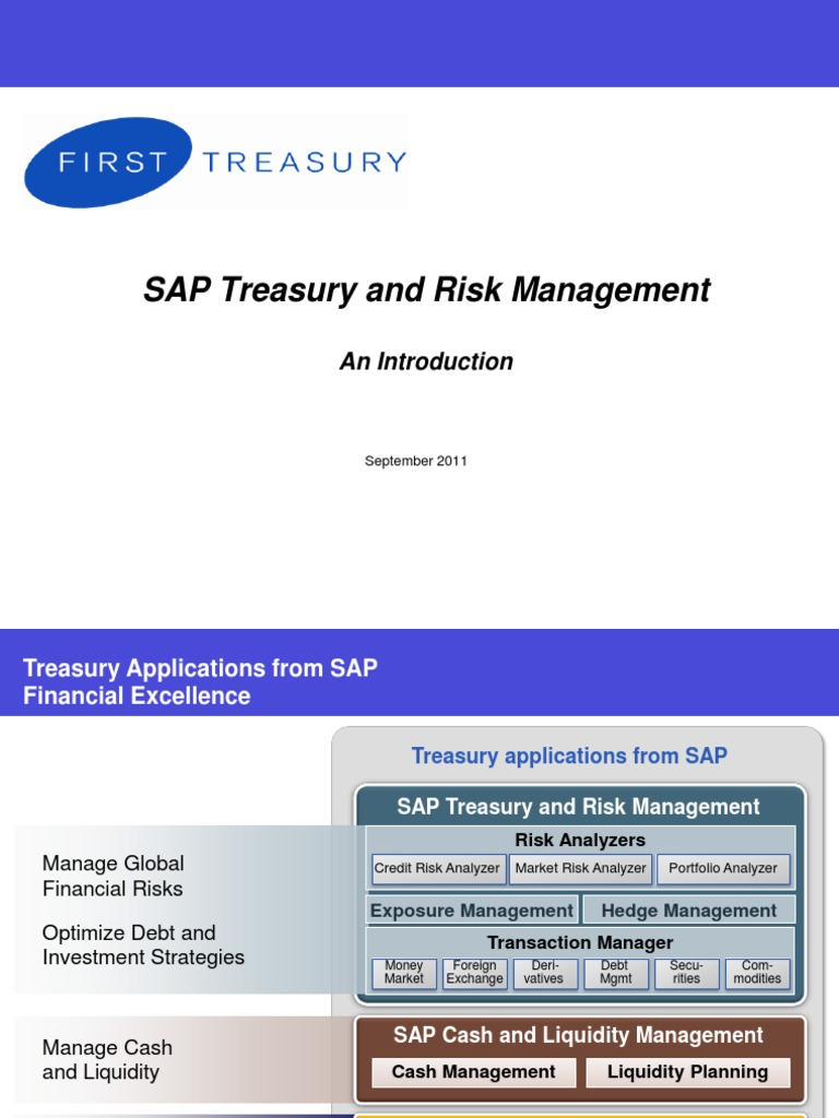 89 Introduction to SAP Transaction Manager | Swap (Finance) | Futures  Contract