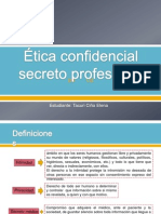 Ética confidencial