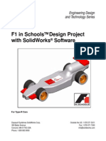 F1 in Schools Design Project Using Solidworks