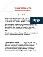 Cholesterol Myth a Journalistic Failure