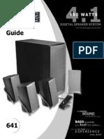 Manual Del Usuario Parlantes Altec Lansing