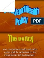 A-15 Safety and Health Policy