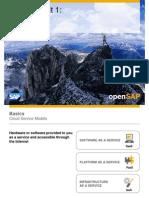 OpenSAP HANACLOUD1 Week 01 Introduction to SAP HANA Cloud Platform