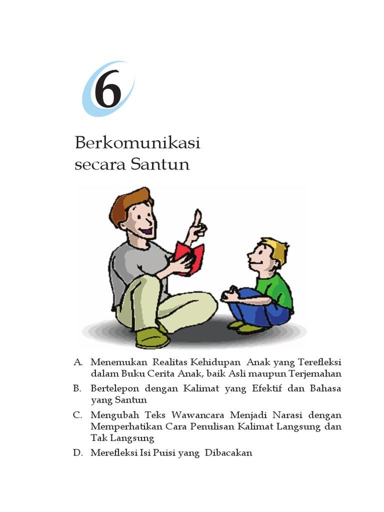 B Ind Kls 7 Bab 6 Berkomunikasi Secara Santun