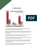 2012 Farm Credit Rollout Slows