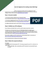 Create Webpage