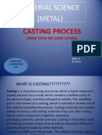 CASTING PROCESS Jitendra Pathak