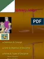 Disciplinary Action 33, 34