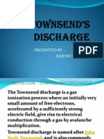 PPT OnTownsends Discharge in Gases