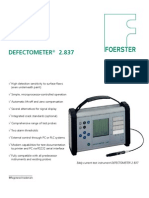 Defectometer 2.837