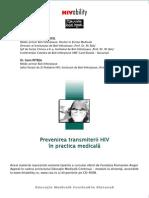Prevenirea Transmiterii HIV in Practica Medicala