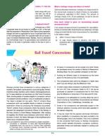 Rail Travel Concession