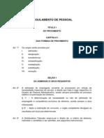 Manual do Colaborador - Regulamento de Pessoal - EU JÁ