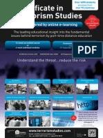 Certificate in Terrorism Studies