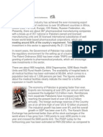 Health Sector of Pakistan