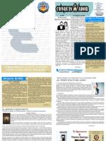 08-16-2009 El Conquistador, Boletín Semanal