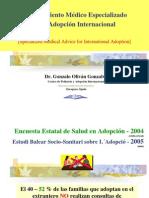Pediatría y Adopción internacional