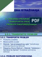 OI106OITransportRasporedjivanje
